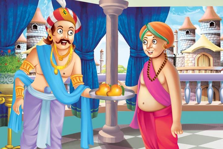 ತೆನಾಲಿ ರಾಮನು ಹಣ್ಣು ಮಾರುವವನ ಕಥೆ